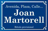 Joan Martorell (calle)
