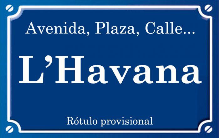 Habana (calle)
