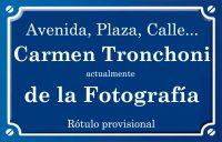 Carmen Tronchoni (calle)