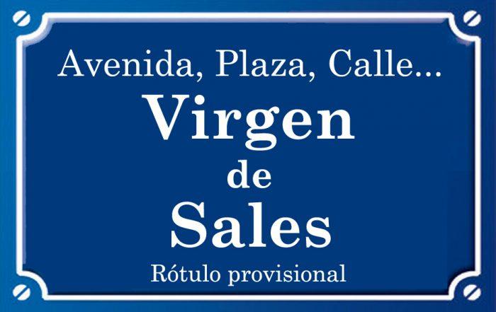Virgen de Sales (calle)
