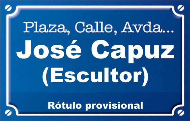 Escultor José Capuz (calle)