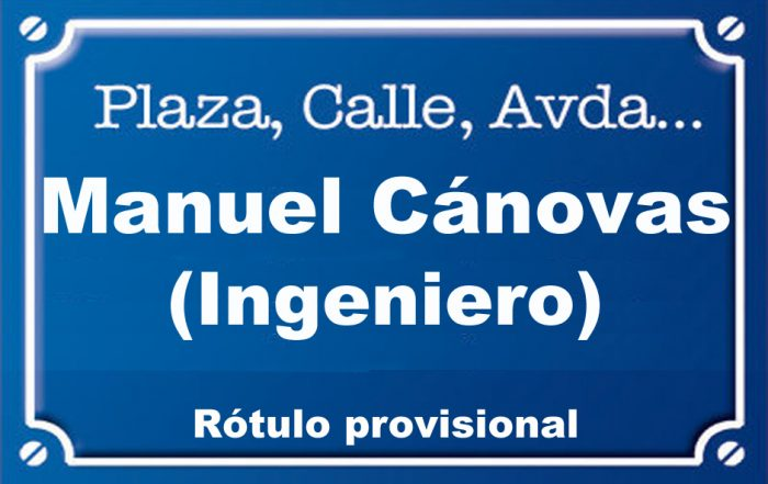 Enginyer Manuel Cánovas (calle)