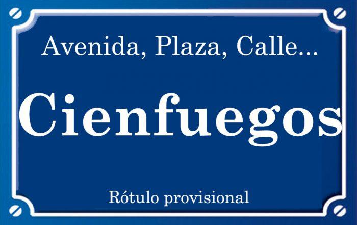 Cienfuegos (calle)