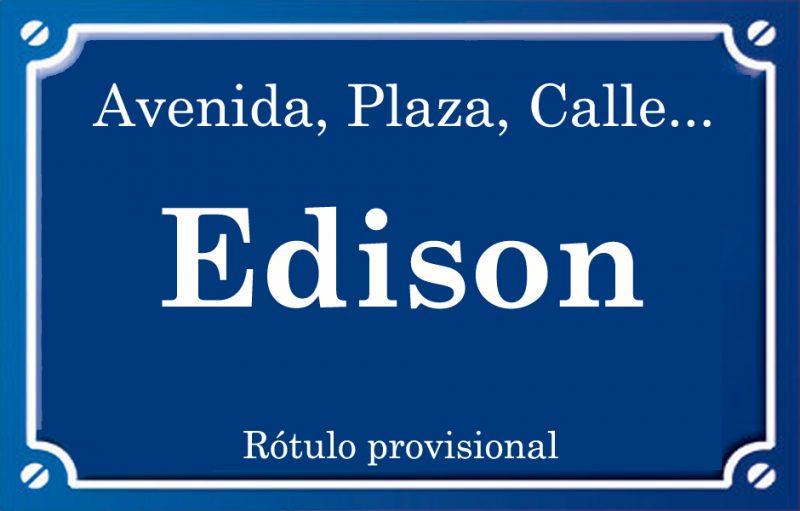 Edison (calle)