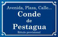Comte de Pestagua (plaza)