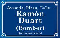 Bomber Ramón Duart (calle)