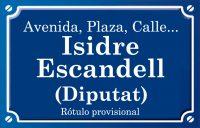 Diputat Isidre Escandell (calle)