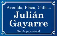 Julián Gayarre (calle)