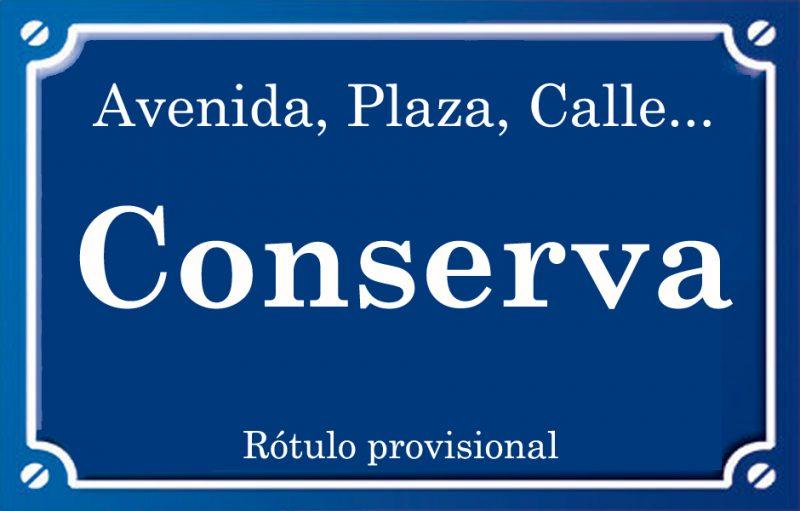 Conserva (calle)