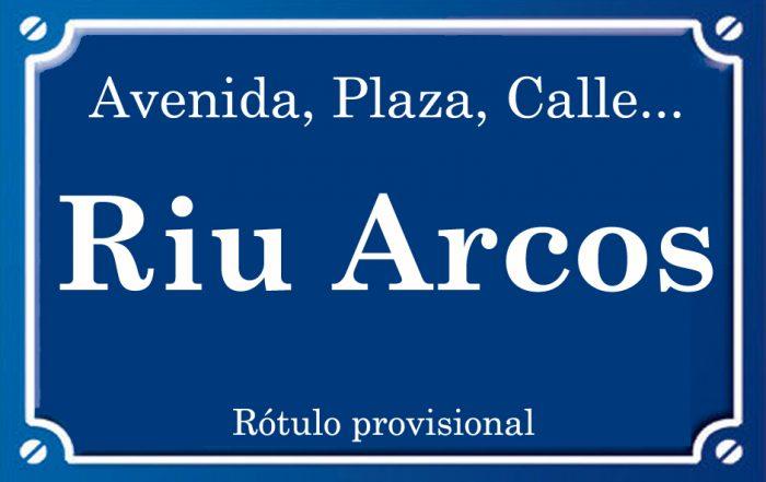 Rio Arcos (calle)