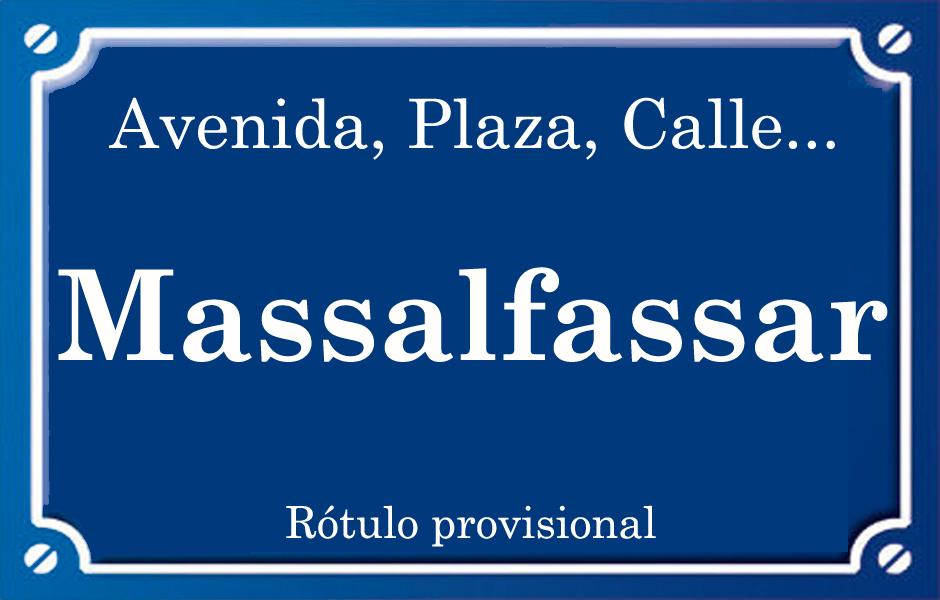 Massalfassar (calle)