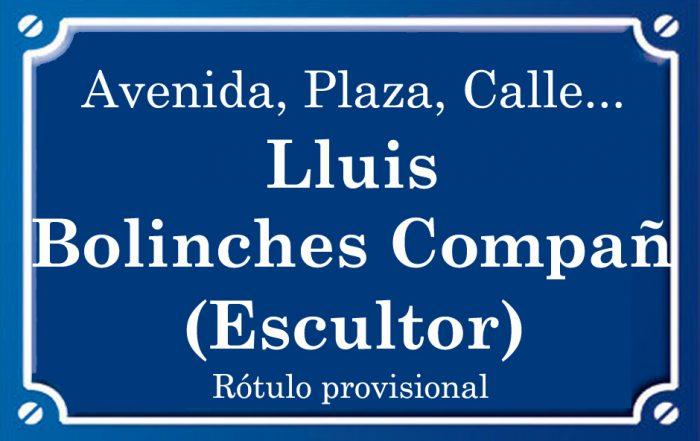 Lluís Bolinches Compañ (calle)