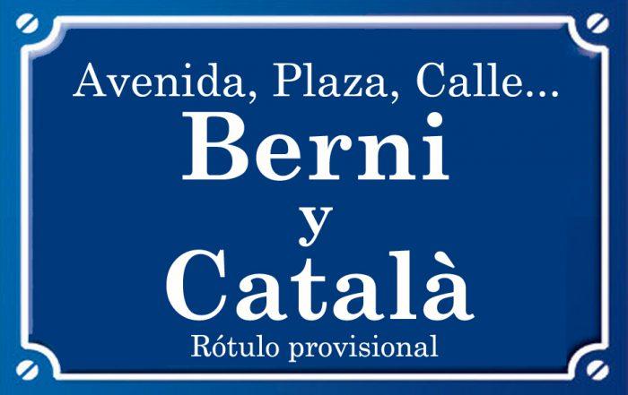 Berni y Català (calle)