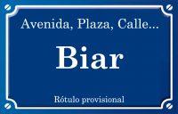 Biar (calle)