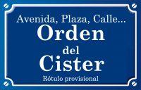 Orden del Cister (calle)