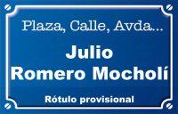 Julio Romero Mocholí (calle)