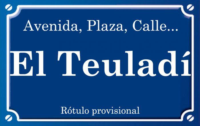 Teuladi (calle)