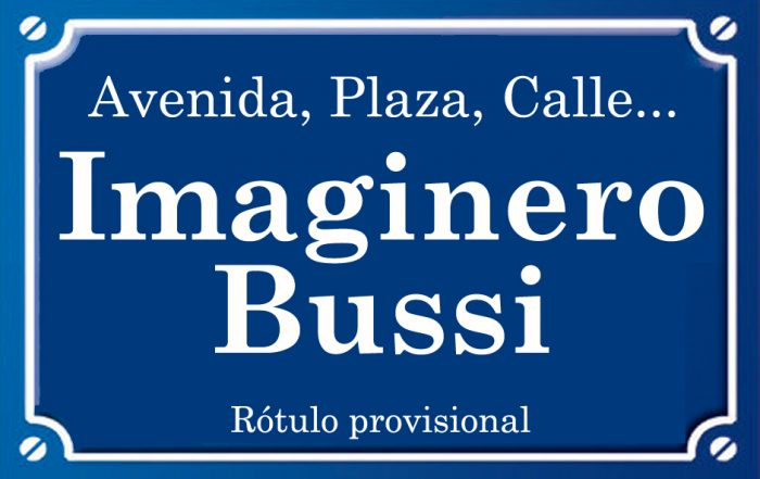 Imaginero Bussi (calle)