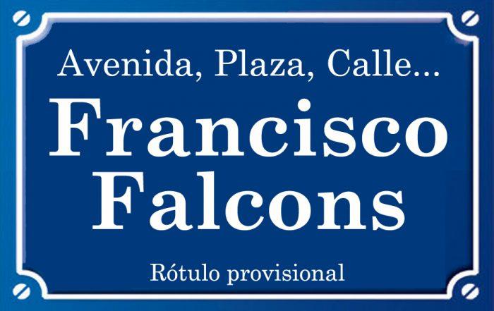 Francisco Falcons (calle)