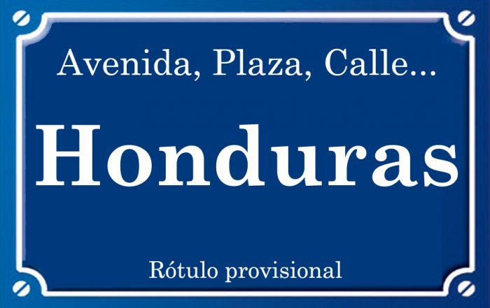 Honduras (plaza)
