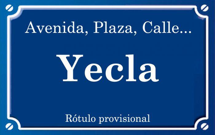 Yecla (calle)