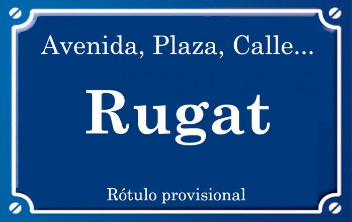 Rugat (calle)