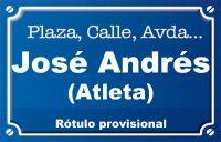 Atleta José Andrés (plaza)