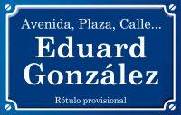 Eduard González (calle)