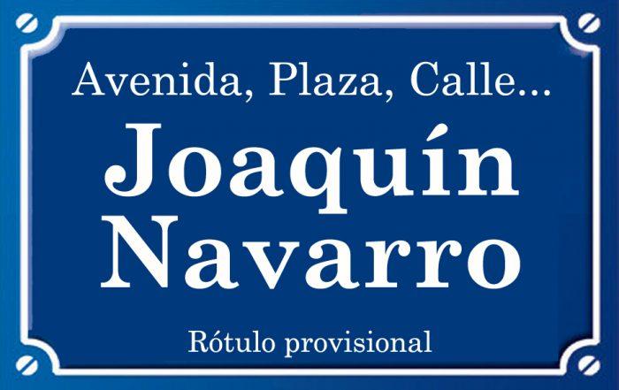 Joaquín Navarro (calle)