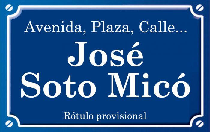 Josep Soto Micó (calle)