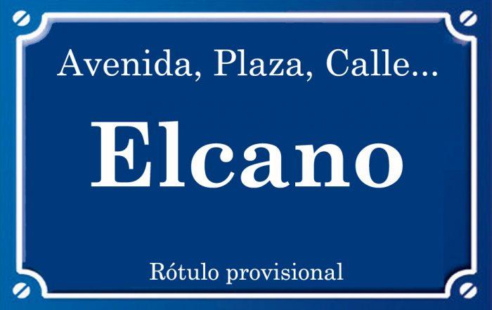 Elcano (calle)