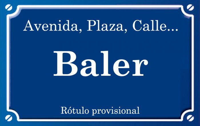 Baler (calle)