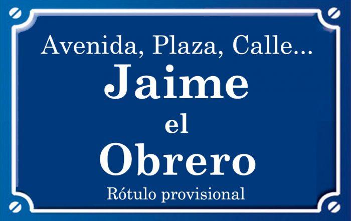 Jaime Obrero (calle)
