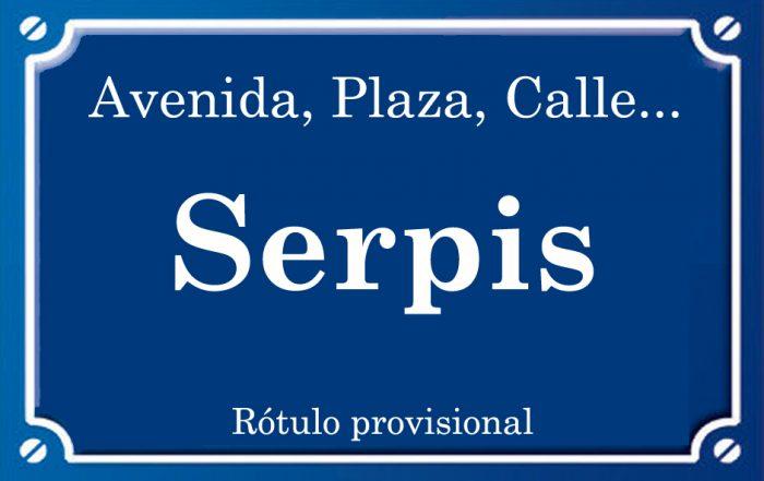 Serpis (calle)