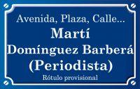 Martí Domínguez Barberá (calle)
