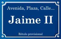Jaime II (calle)