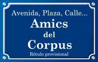 Amics del Corpus (calle)