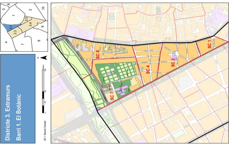 Barrio 3.1: Botànic