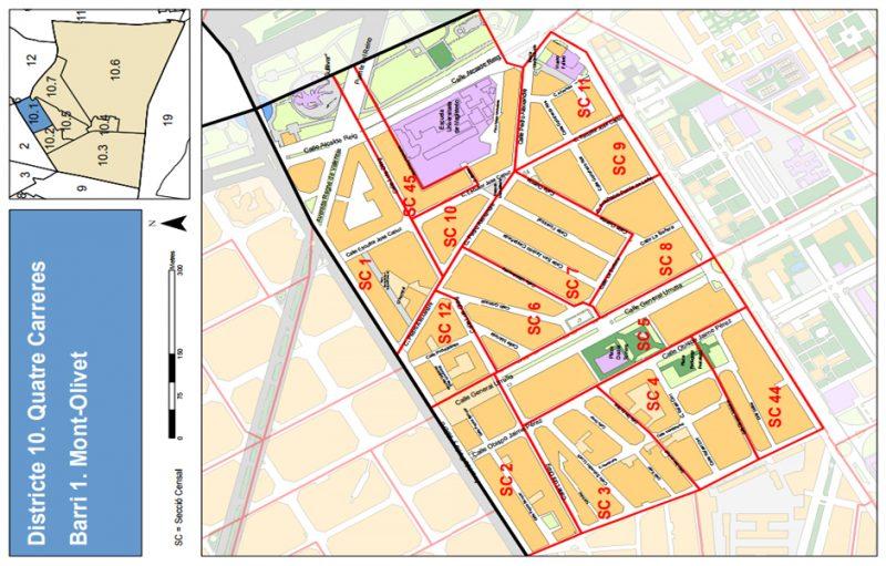 Barrio 10.1: Mont-Olivet