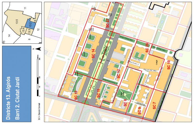 Barrio 13.2: Ciutat Jardí