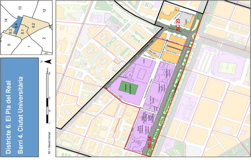 Barrio 6.4: Ciutat Universitaria