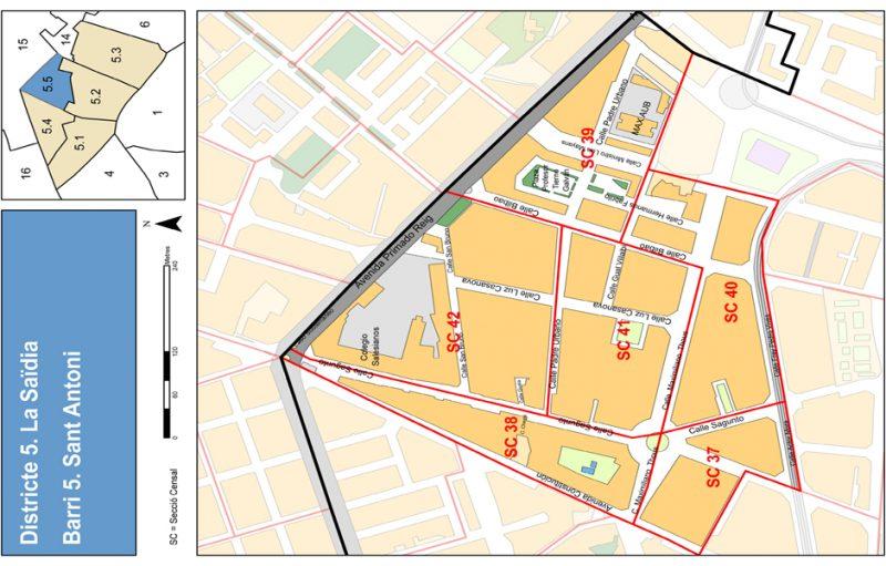 Barrio 5.5: Sant Antoni