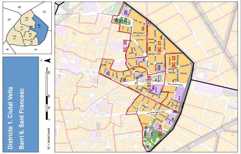 Barrio 1.6: Sant Francesc