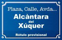 Alcàntara del Xúquer (calle)