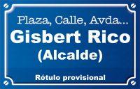 Alcalde Gisbert Rico (Avenida)