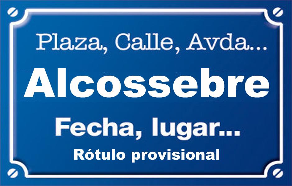 Alcossebre (calle)