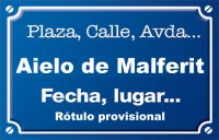 Aielo de Malferit (calle)