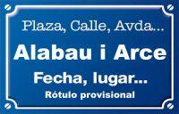 Alabau i Arce (calle)