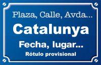 Catalunya (avenida)
