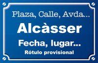 Alcàsser (calle)